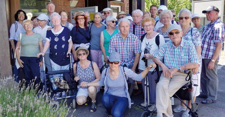 15. Sonntagswanderung des Demenzzentrums Trier im Kylltal